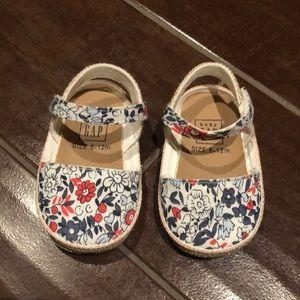 Baby Gap floral sandals